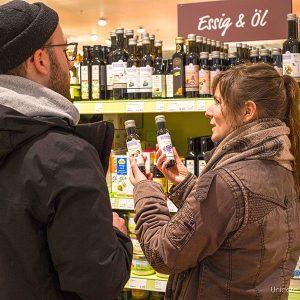 Einkaufstraining mit Linda Hoffmann in Dresden